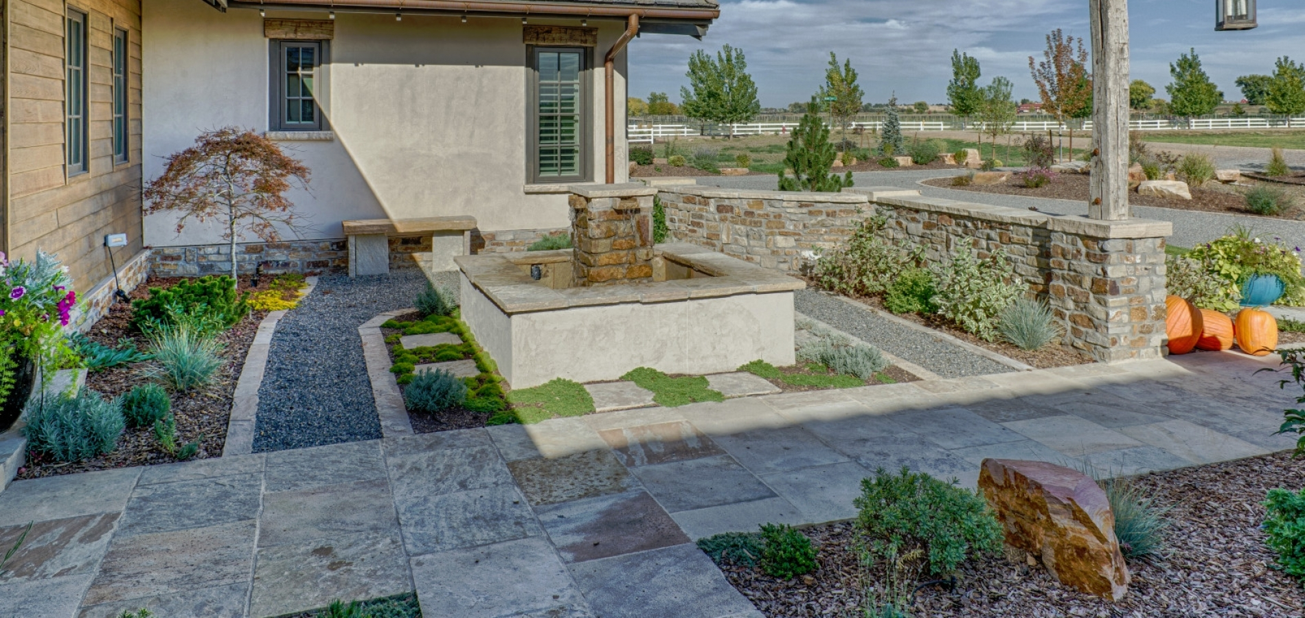 front xeriscape