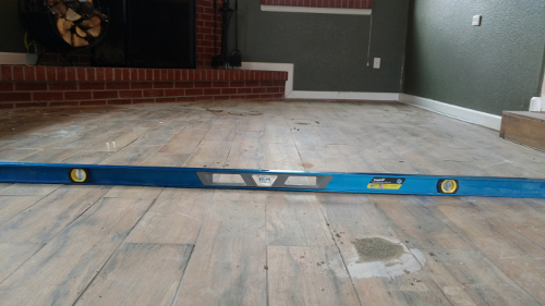 leveled-floor-caused-by-foundation-vertical-movement-after