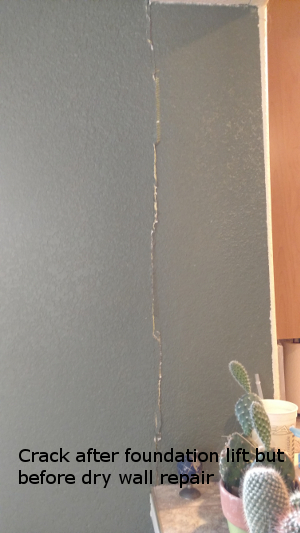 dry-wall-crack-after-foundation-vertical-movement-resolved