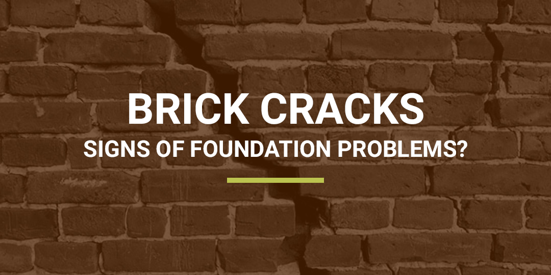 Foundation Brick Cracks